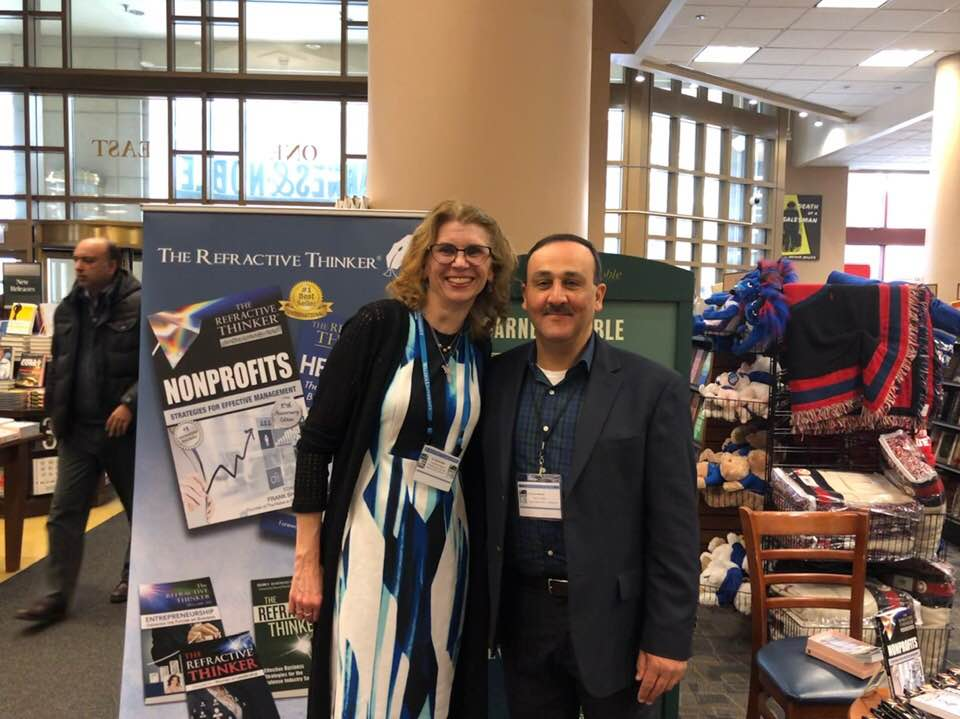Refractive Thinker Authors at book signing DePaul University